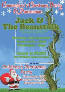 OCC Christmas Party Poster