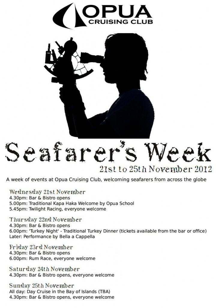 Seafarer's Week poster